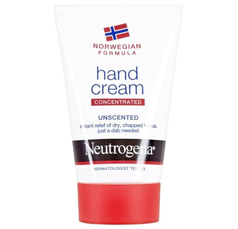 Neutrogena Hand Cream Norwegian Formula Concentrated Unscented
