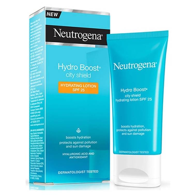 Neutrogena Hydro Boost City Shield Hydrating Lotion SPF 25