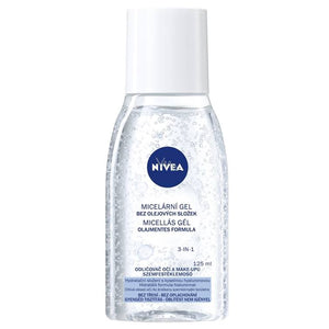 Nivea 3 in 1 oil-free Micellar Makeup Remover Gel 125ml