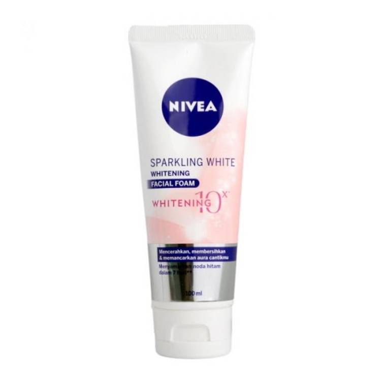Nivea Sparkling White Whitening Facial Foam Whitening 100ml
