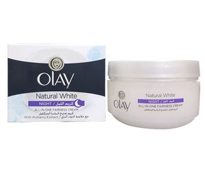 Olay Natural White All In One Fairness Night Cream