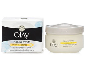 Olay Natural White Day SPF 24 All In One Fairness Day Cream