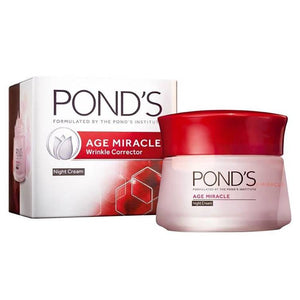 Pond's Age Miracle Wrinkle Corrector Night Cream 50ml (Imported)