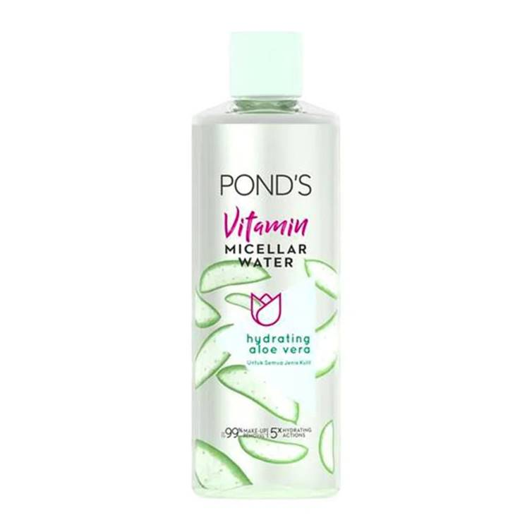 Pond's Vitamin Micellar Water Hydrating Aloe Vera 100ml