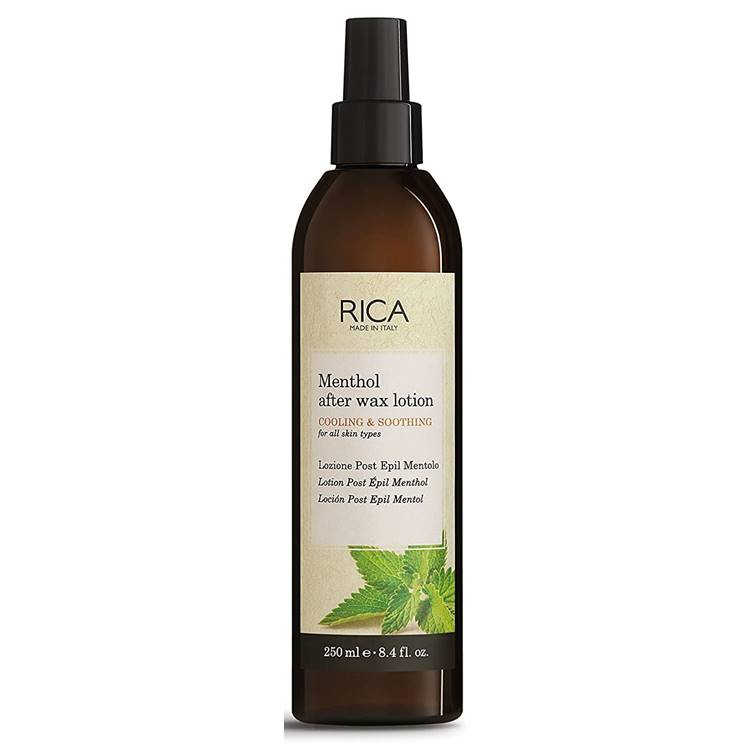 Rica Menthol After Wax Lotion Calming & Soothing 250ml