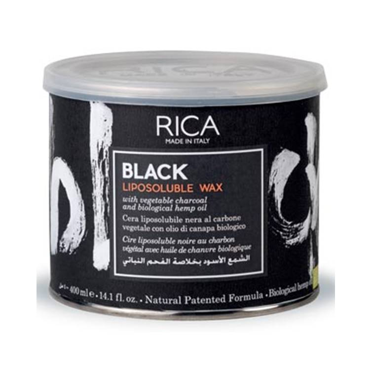 Rica Wax Black Liposoluble 400 ml
