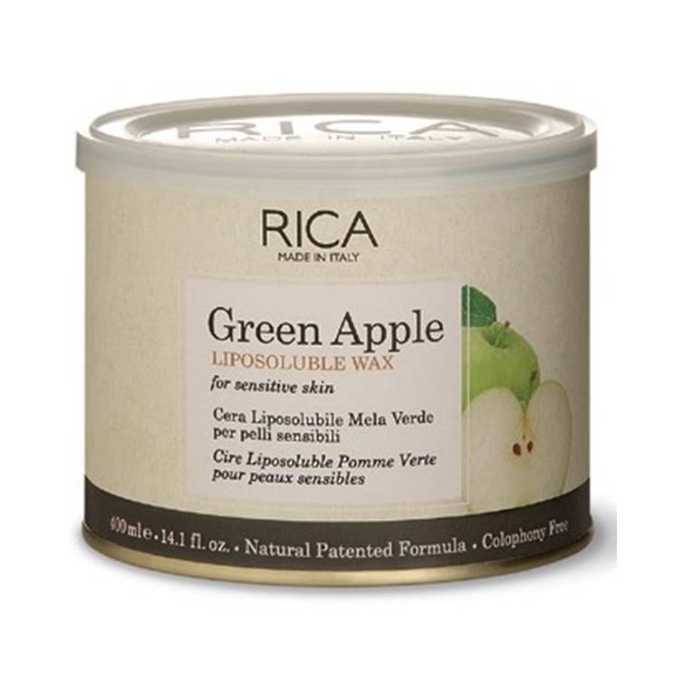 Rica Wax Green Apple Liposoluble 400 ml