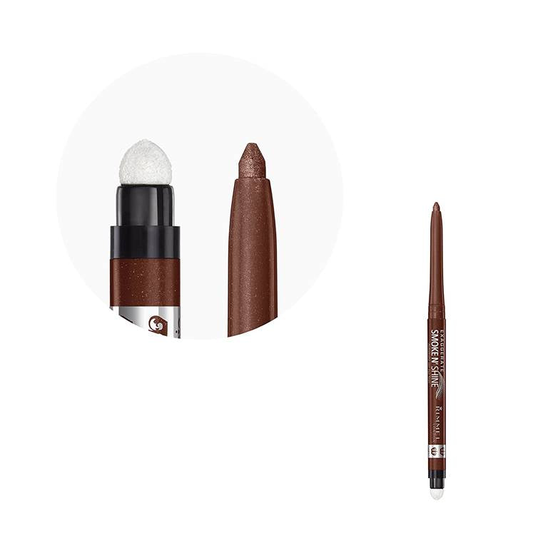 Rimmel Exaggerate Smoke N' Shine Eyeliner 002 Copper Bling