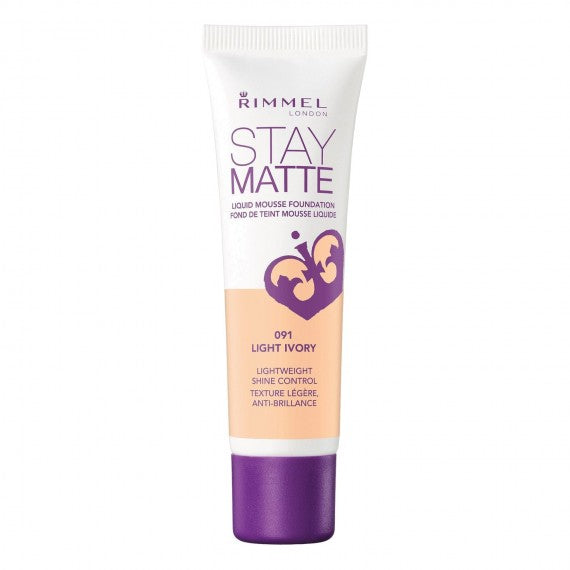 Rimmel Stay Matte Liquid Mousse Foundation Light Porcelain