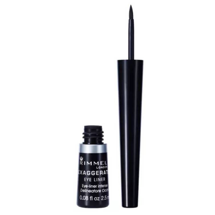 Rimmel London Exaggerate Liquid Eye Liner Black 01