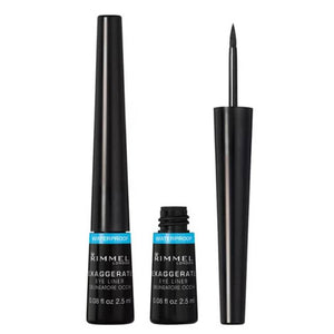 Rimmel London Exaggerate Waterproof Liquid Eye Liner 03