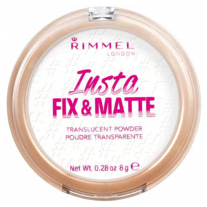 Rimmel London Insta Fix & Matte Translucent Powder