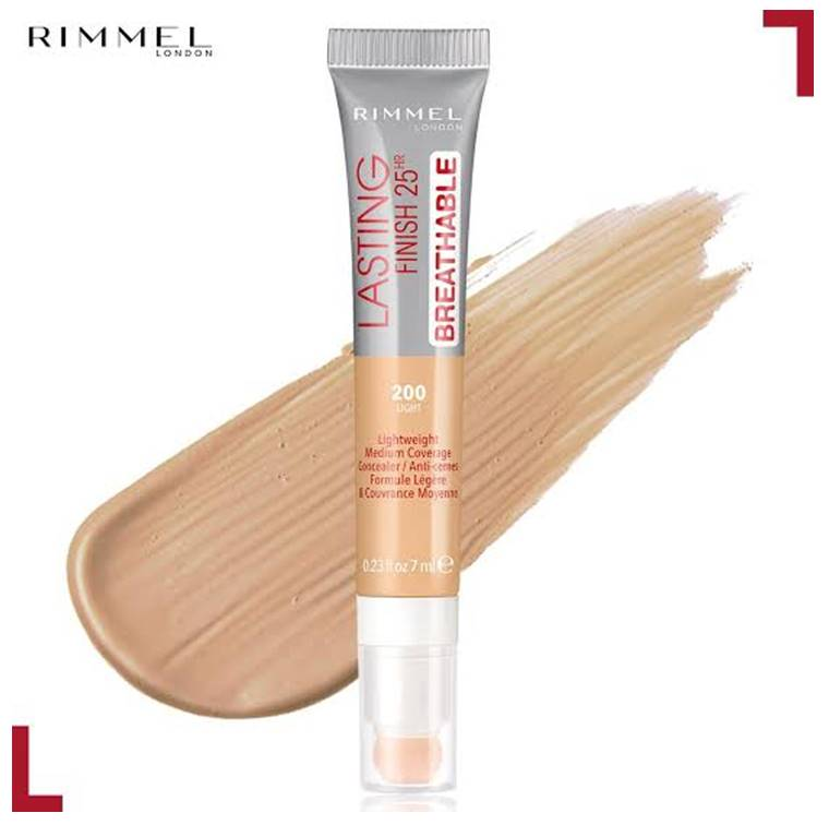 Rimmel London Lasting Finish Breathable Concealer Light