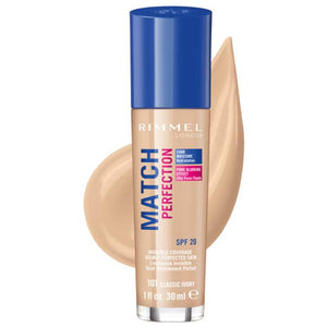 Rimmel London Match Perfection Foundation Classic Ivory