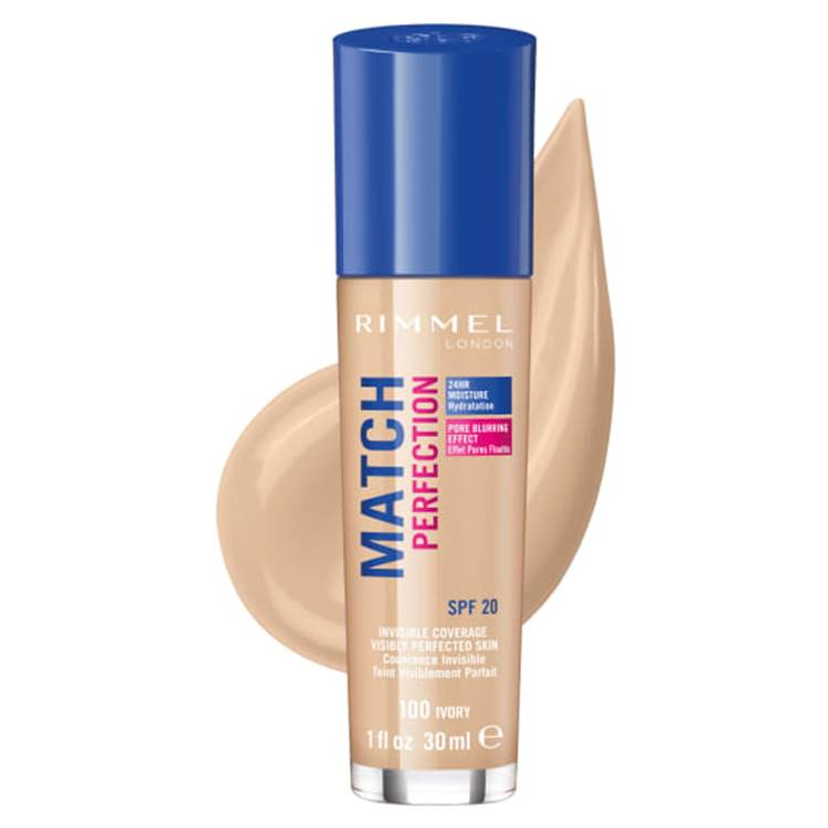 Rimmel London Match Perfection Foundation Ivory