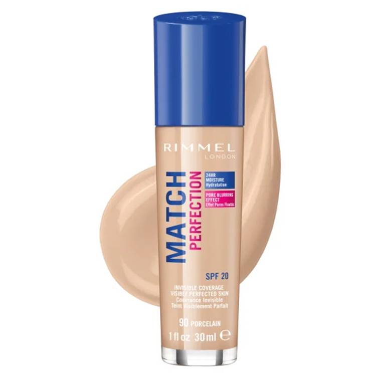 Rimmel London Match Perfection Foundation Porcelain