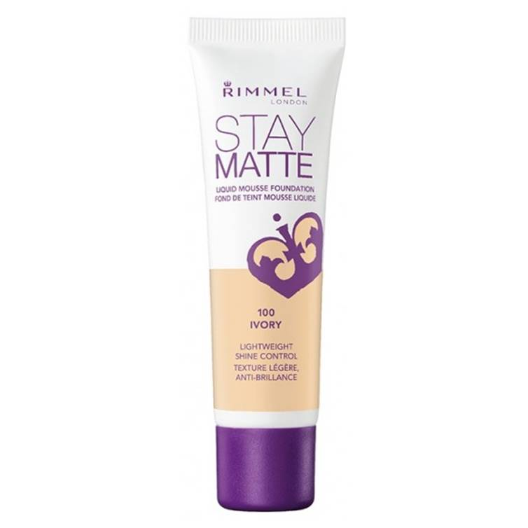 Rimmel London Stay Matte Liquid Mousse Foundation Ivory