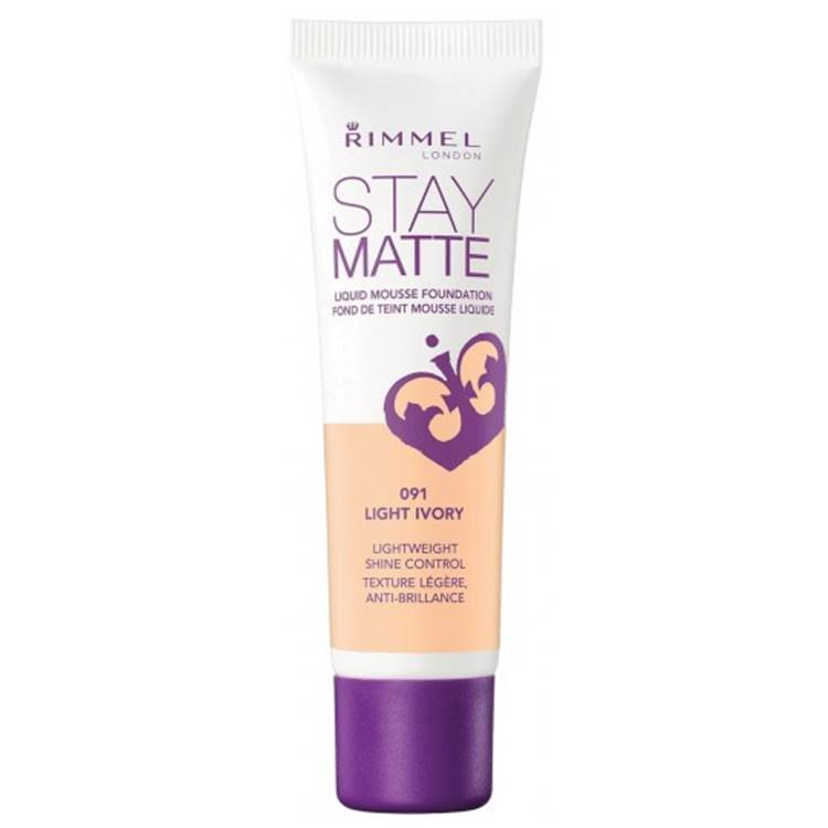 Rimmel Stay Matte Liquid Mousse Foundation Light Ivory