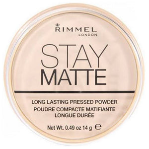 Rimmel Stay Matte Long Lasting Pressed Powder Transparent