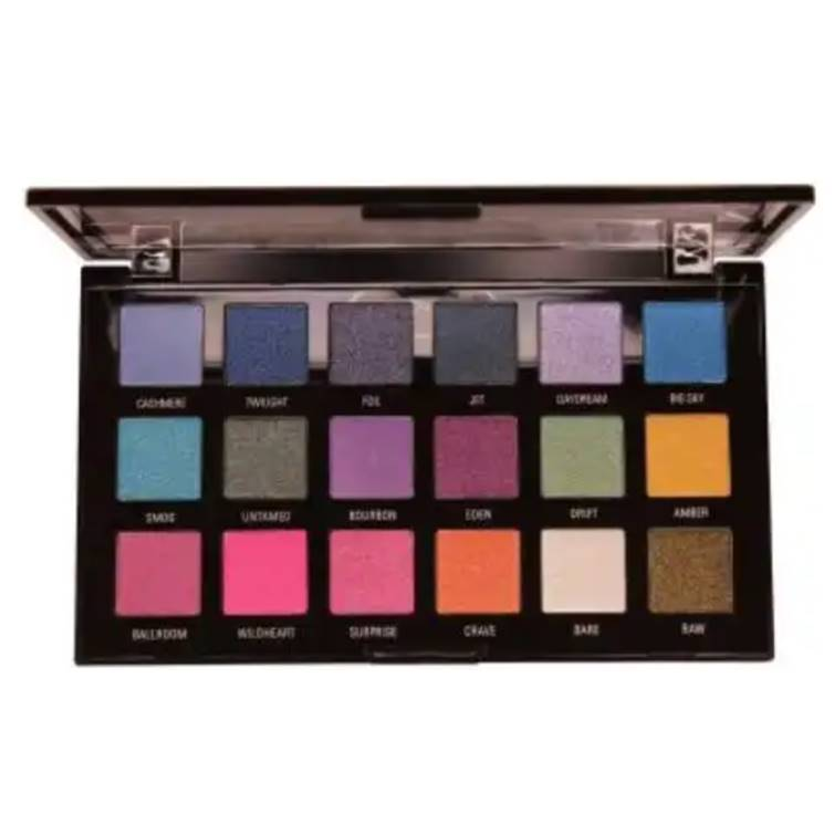 Rivaj HD Flawless Eyeshadow Palette (18 In 1) - Shade 04