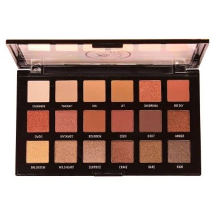 Rivaj HD Flawless Eyeshadow Palette (18 In 1) - Shade 01