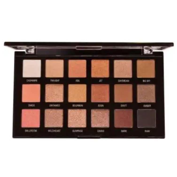 Rivaj HD Flawless Eyeshadow Palette (18 In 1) - Shade 02