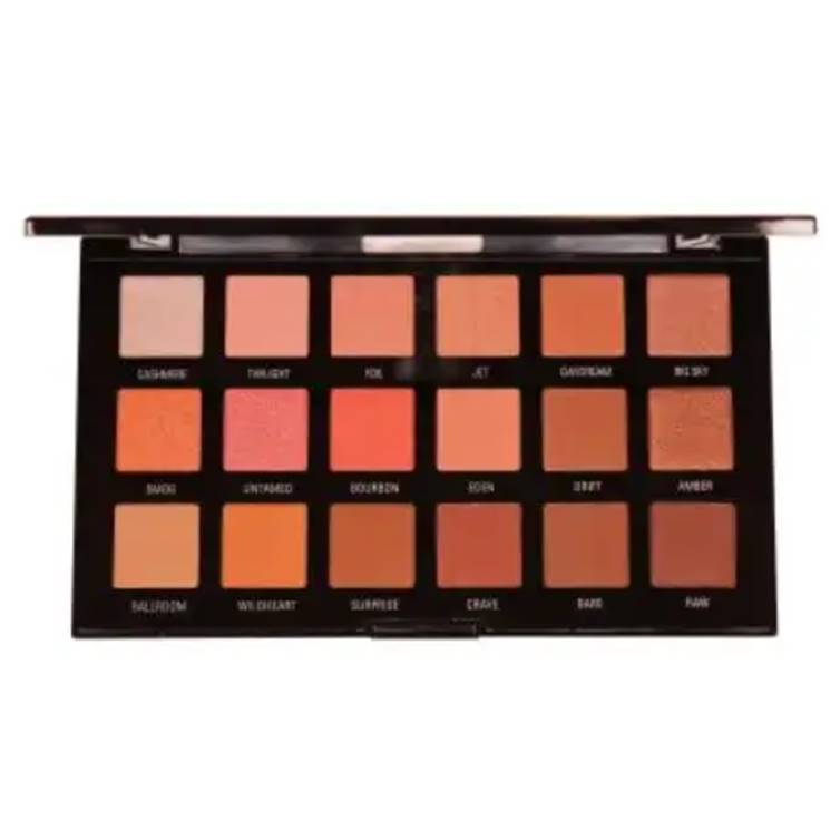 Rivaj HD Flawless Eyeshadow Palette (18 In 1) - Shade 03