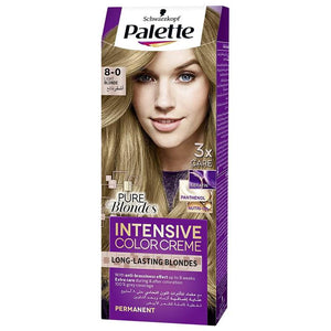 Schwarzkopf Palette Intensive Color Creme 8-0 Light Blonde