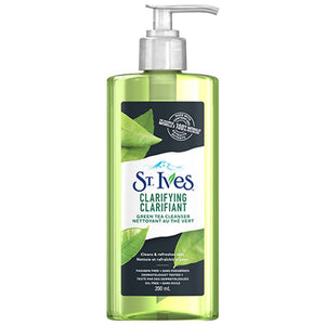 St. Ives Clarifying Facial Cleanser for Clean and Refreshed Green Tea