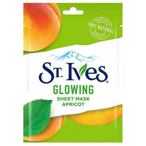 St. Ives Glowing Sheet Mask Glow Apricot (Imported)