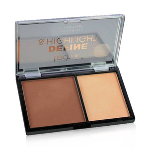 Technic Define & Highlight Duo Contour Kit Bronzer & Highlight Powder