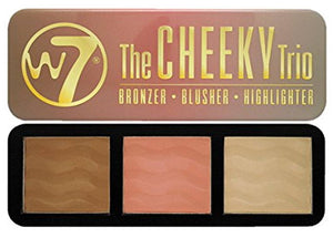 W7 Cheeky Trio Bronzer/Blusher/Highlighter