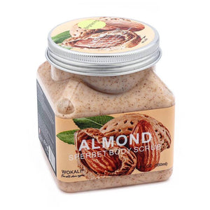 Wokali Almond Body Scrub