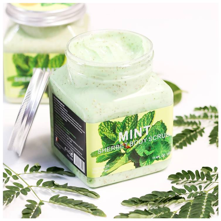 Wokali Mint Body Scrub