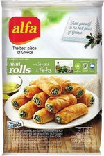Feta Cheese Mini Rolls - Alfa - Goffa - Fresh to your door!