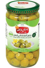 Green Olives Stuffed Lemon - Al Ahlam - Goffa - Fresh to your door!