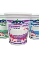 Halal Plain Yogurt - Cedar - Goffa - Fresh to your door!