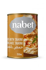 Hummus With Tahini - Nabet - Goffa - Fresh to your door!