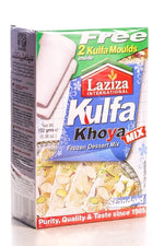 Kulfa Khoya Frozen Dessert Mix with Kesar - Laziza - Goffa - Fresh to your door!