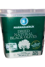 Dried Natural Black Olives - MARMARABIRLIK - Goffa - Fresh to your door!