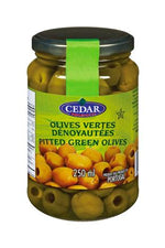 Pitted Green Olives - CEDAR - Goffa - Fresh to your door!