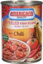 Plain Fava Beans with Chilli - Americana - Goffa - Fresh to your door!
