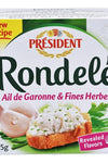 Rondele Cheese - President - Goffa - Fresh to your door!