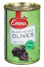 Sliced Black Olives - Emma - Goffa - Fresh to your door!