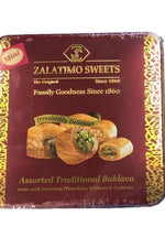 Sweets Assorted Baklava - Zalatimo - Goffa - Fresh to your door!
