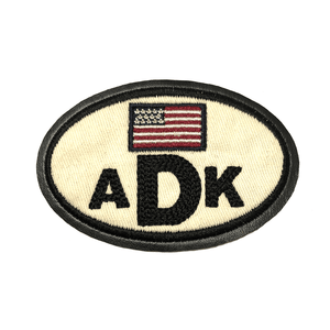 ADK American Flag Patch