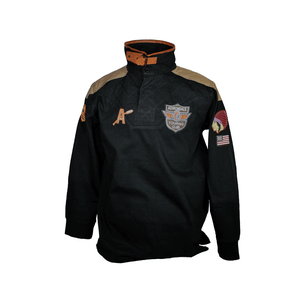 Black Cafe Racer Motorcycle Shirt by T Dalton Clothing
