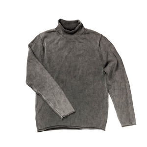 Charcoal Rollneck Sweater by T Dalton Clothing