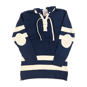 Blue Stripe Hockey Sweater