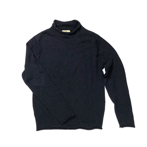 Navy Rollneck Sweater by T Dalton Clothing